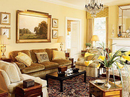 Attractive traditional living room designs ideas in italian 31