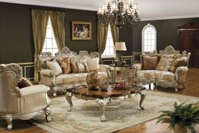 Attractive traditional living room designs ideas in italian 35