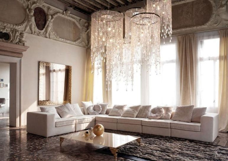 Attractive traditional living room designs ideas in italian 39
