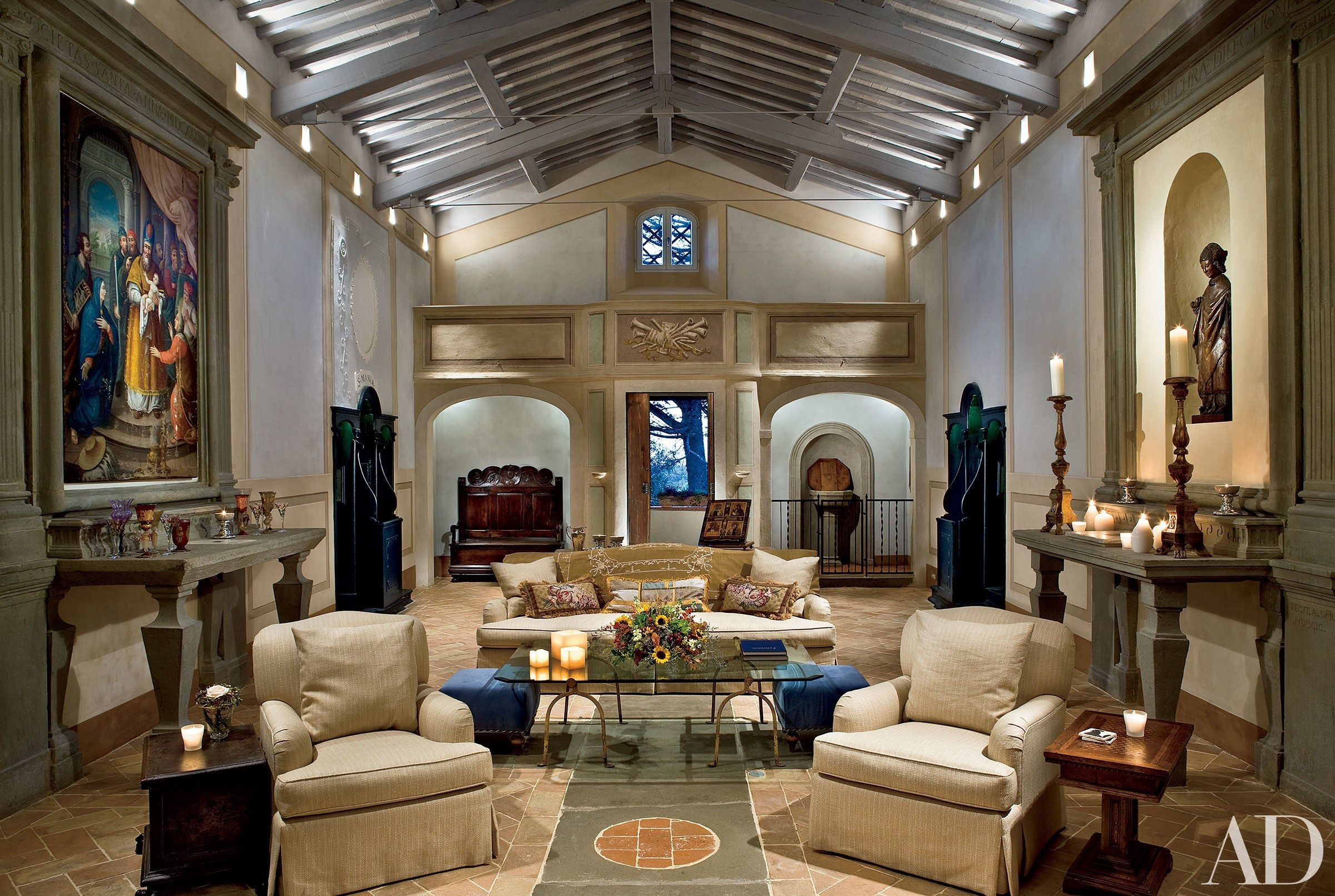 Attractive traditional living room designs ideas in italian 40
