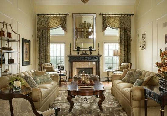 Attractive traditional living room designs ideas in italian 45