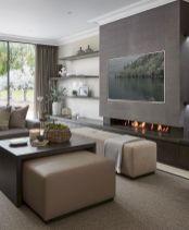 Awesome contemporary living room decor ideas 21