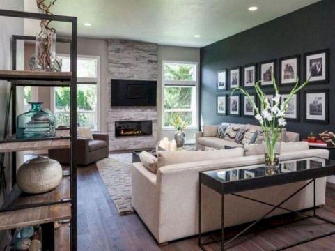 Awesome contemporary living room decor ideas 45