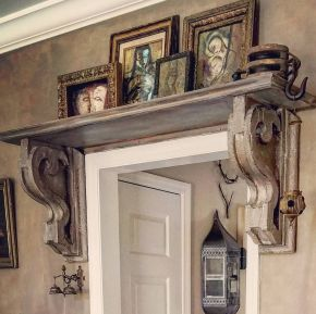 Best ideas for decorating room to be more interesting with corbels 11