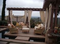 Charming living room design ideas for outdoor 12
