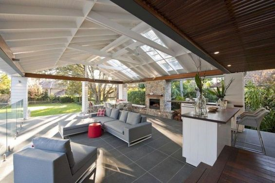 Charming living room design ideas for outdoor 19