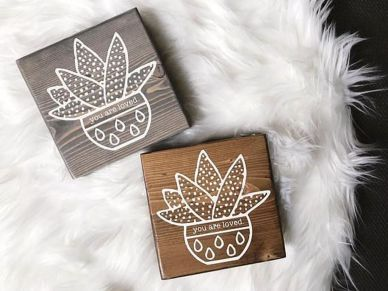 Cute love wood design ideas for you 18