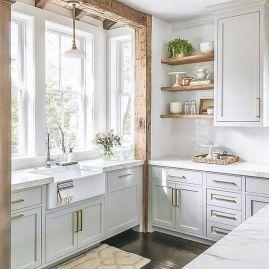 Elegant kitchen desk organizer ideas to look neat 13