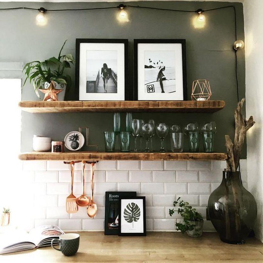 Elegant kitchen desk organizer ideas to look neat 16
