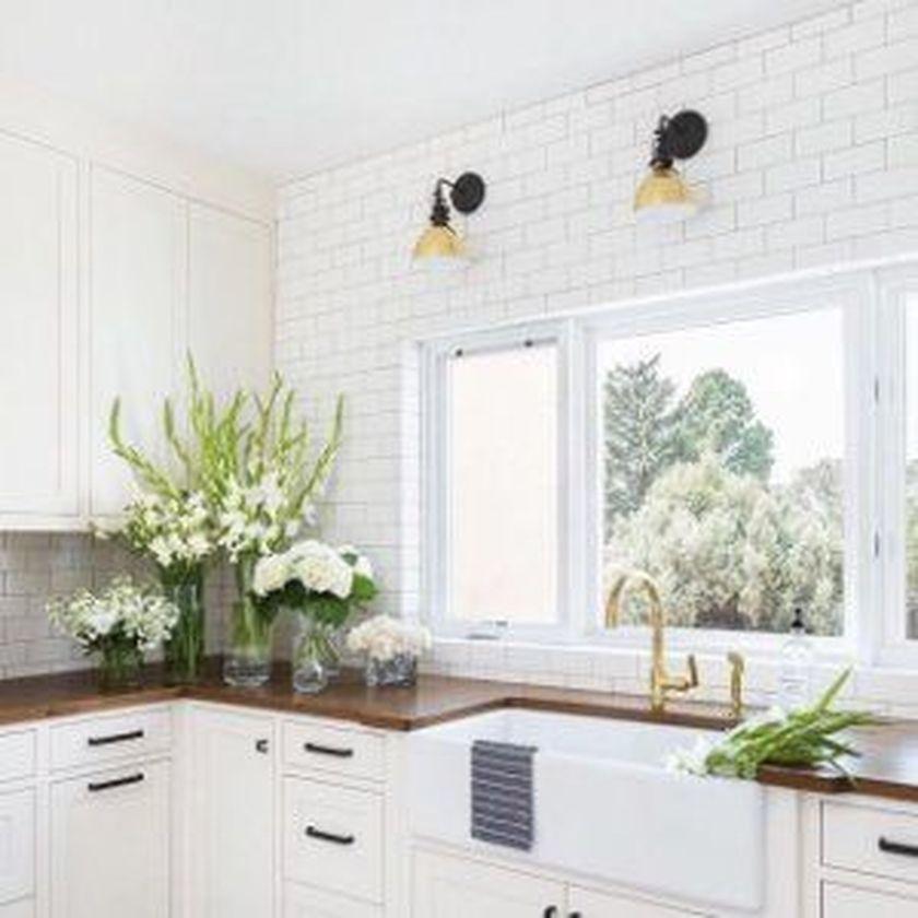 Elegant kitchen desk organizer ideas to look neat 18