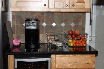 Elegant kitchen desk organizer ideas to look neat 20