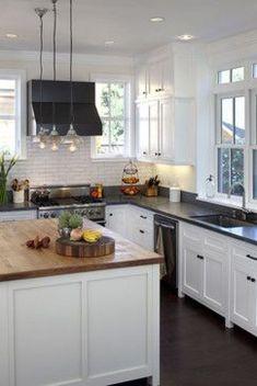 Elegant kitchen desk organizer ideas to look neat 30