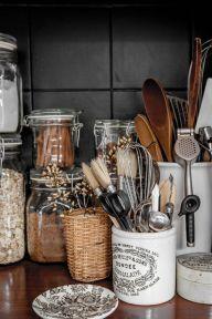 Elegant kitchen desk organizer ideas to look neat 32