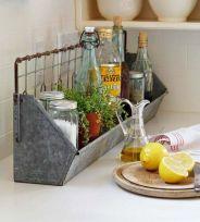 Elegant kitchen desk organizer ideas to look neat 40