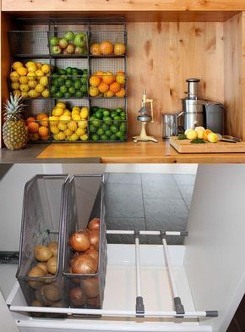 Elegant kitchen desk organizer ideas to look neat 42