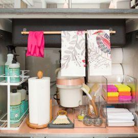 Elegant kitchen desk organizer ideas to look neat 46
