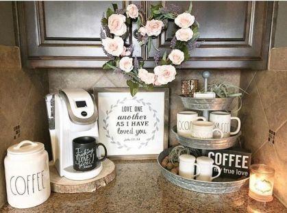 Elegant kitchen desk organizer ideas to look neat 52