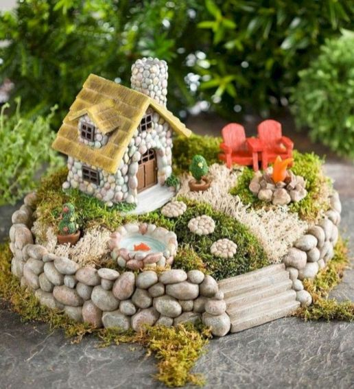 Impressive mini garden mug ideas to add beauty on your home 14