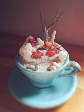 Impressive mini garden mug ideas to add beauty on your home 25