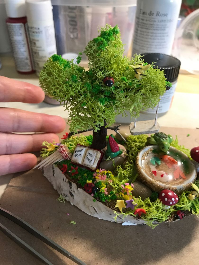 Impressive mini garden mug ideas to add beauty on your home 27
