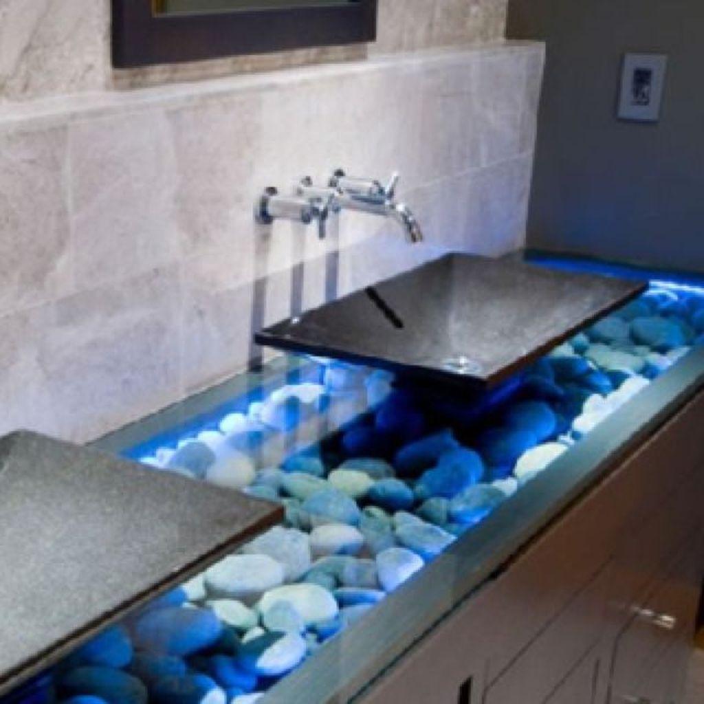 Magnificient bathroom sink ideas for your bathroom 43