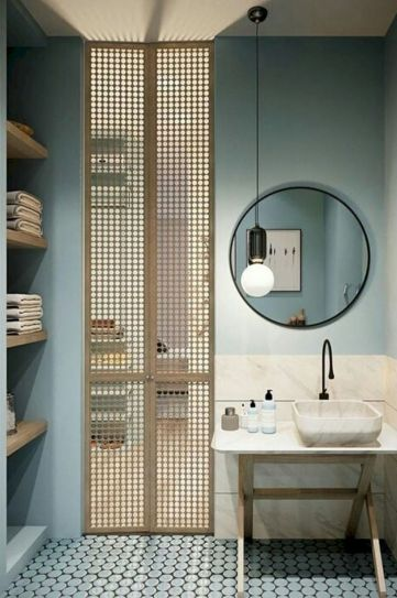 Stunning wet room design ideas 24