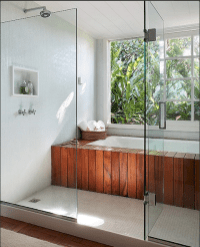 Stunning wet room design ideas 33