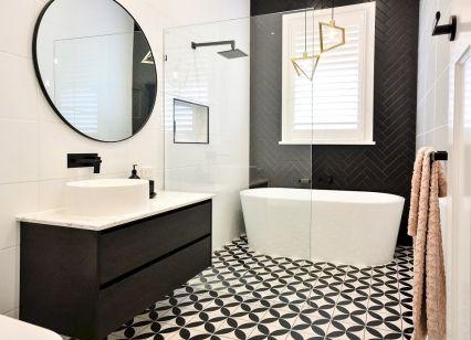 Stunning wet room design ideas 37