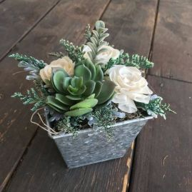 Stunning wood flower box ideas to beautify the flower decoration 27