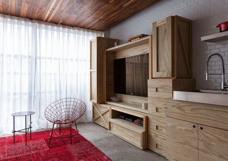 This Small Apartment Filled With Unique Straicase That Fabulous 2