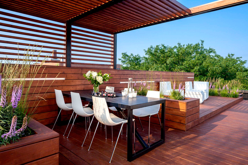 Amazing Rooftop Design With Urban View That Will Make Us Swoon 4