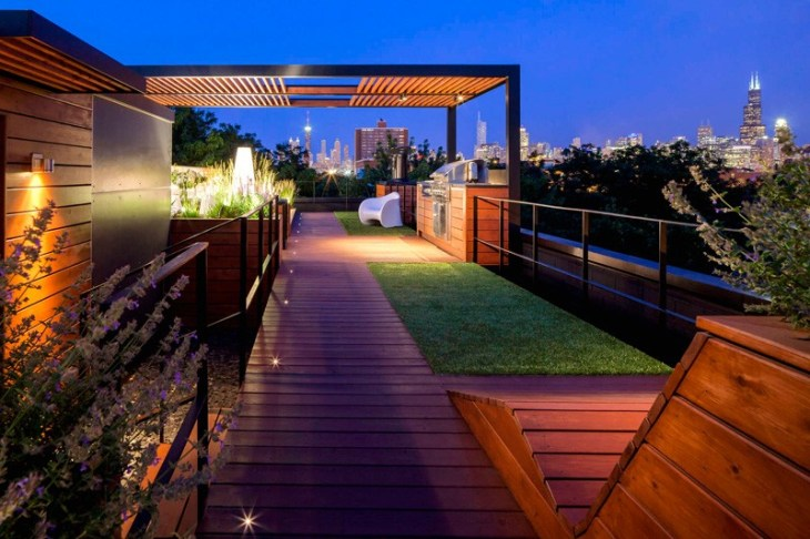 Amazing Rooftop Design With Urban View That Will Make Us Swoon 8