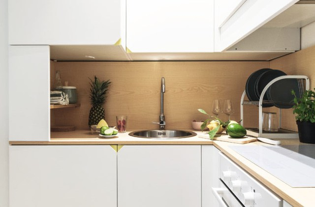 An Impressive Micro-ApartmentWith Transforming Wall That Truly Sophisticated 7