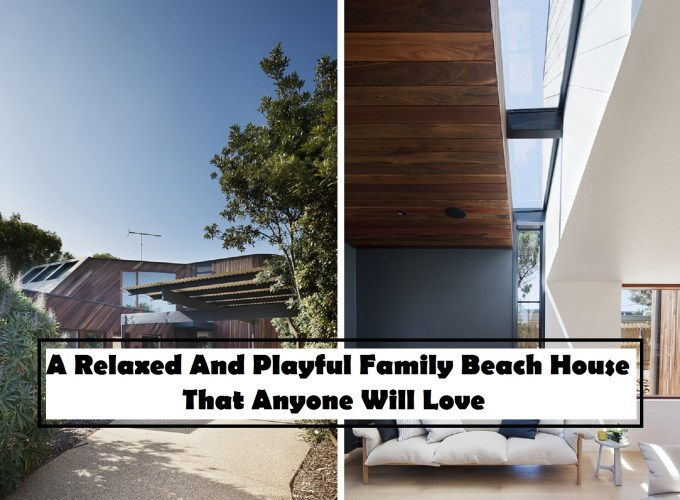 A relaxed and playful family beach house that anyone will love