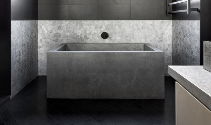 Concrete-and-tile-bathroom