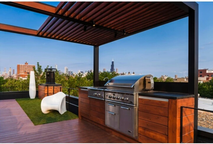 Amazing Rooftop Design With Urban View That Will Make Us Swoon 6