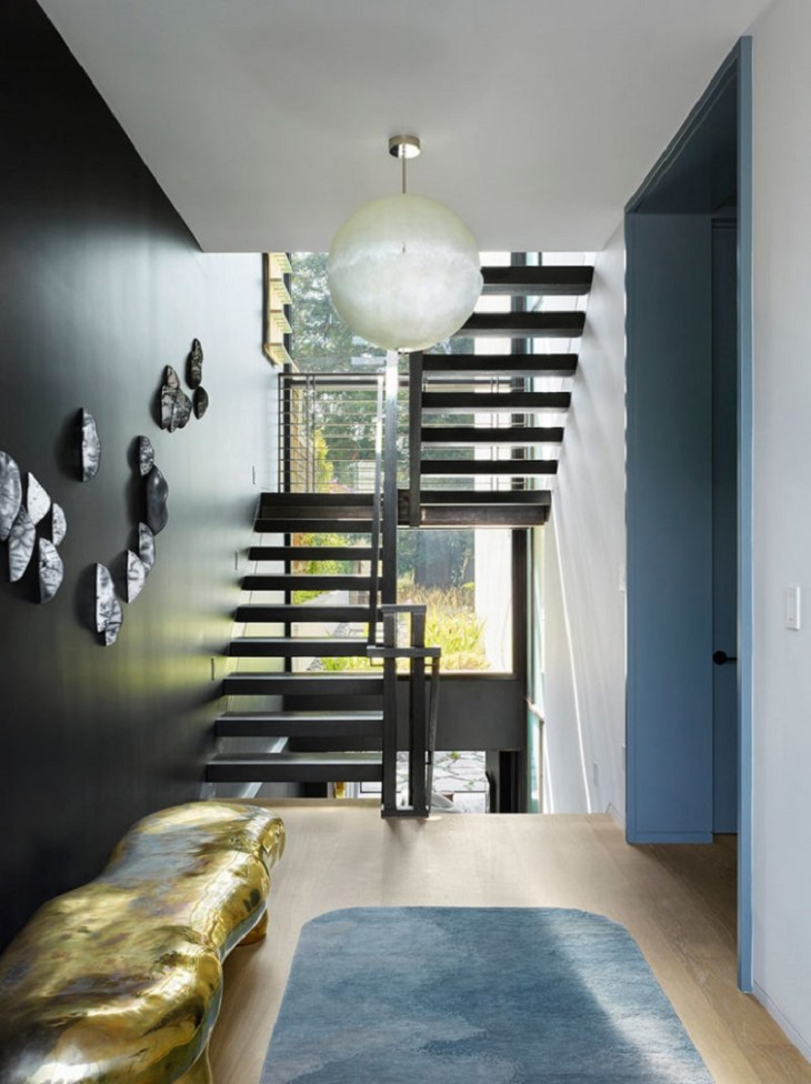 This modern home design filled with futuristic accent 1