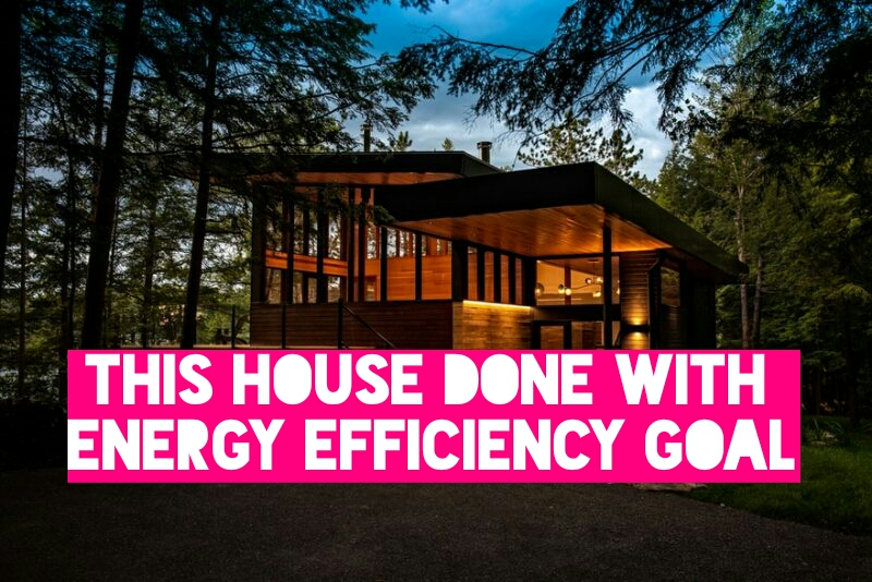 This House Done With Energy Efficiency Goal