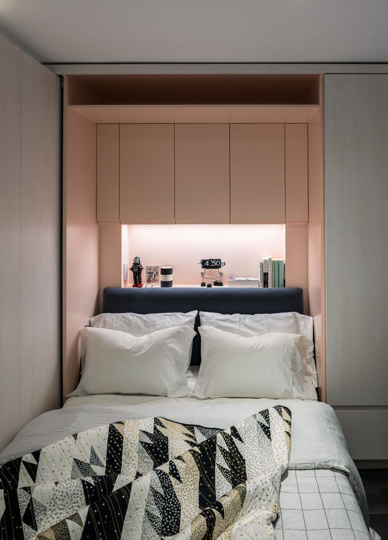 A Sophisticated Tiny Apartment With Transforming Elements 8