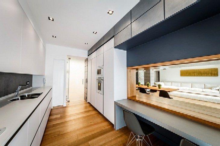 Modern Apartment Design With Monolithic Partition 7