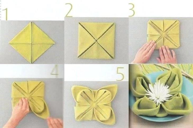 1 Flower Napkin