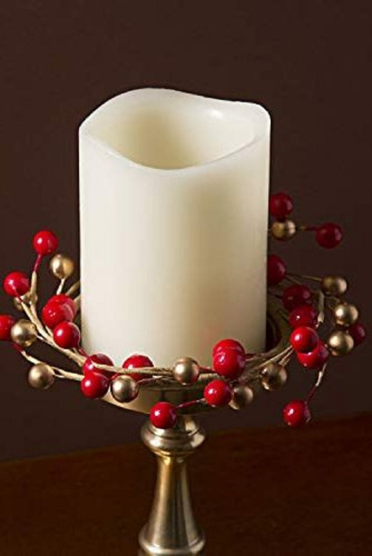Berry-candle-ring