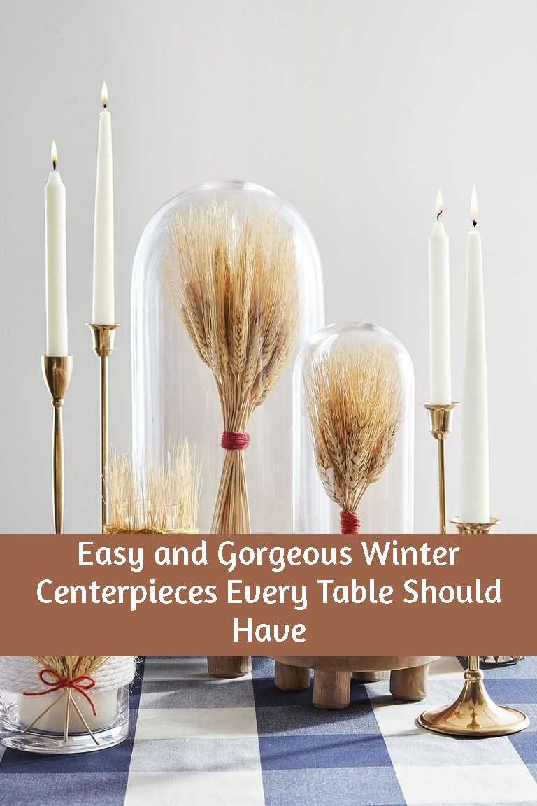 Easy and Gorgeous Winter Centerpieces Every Table Should Have