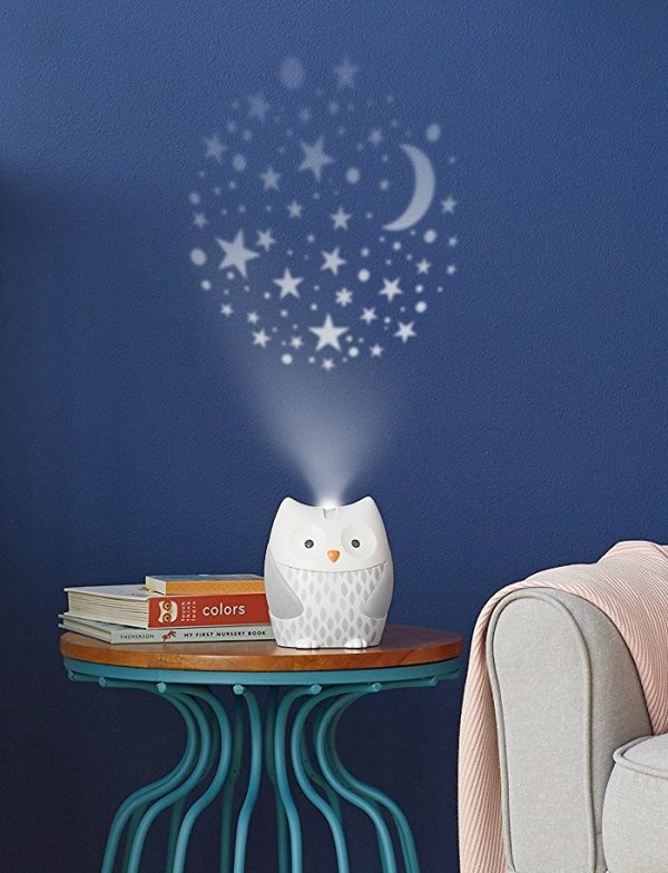 Owl nightlight with projector and music player Kids Room Night Lamps To Keep Your Kids on Their Happy Dream