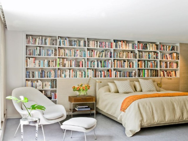 A bookworm's dream Roaring Above The Bed Decoration Ideas To Have A Fresher Look
