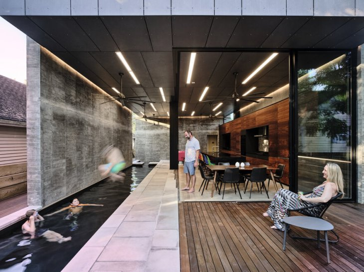 Amazing house that flipped the script on indoor home life for a single-family 3