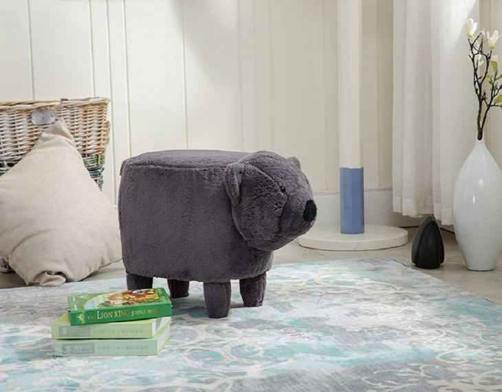 Animal shaped ottoman Foremost Ottomans To Have Comfortable And Relaxing Spot