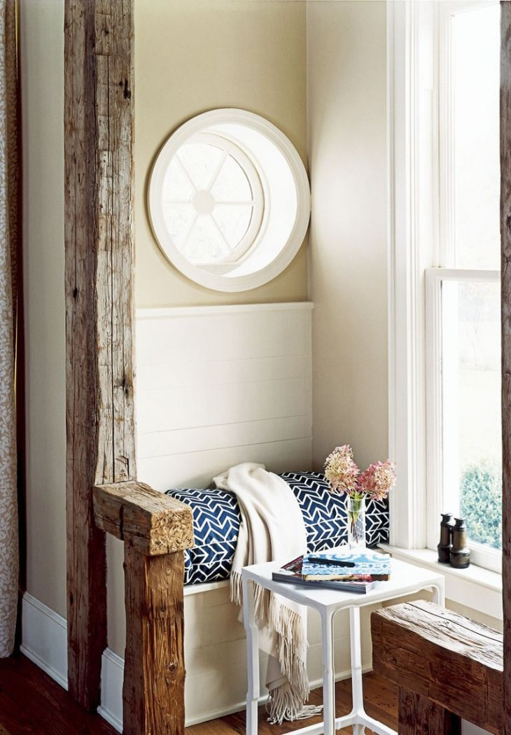 Cozy up by a window Shining Breakfast Nook Ideas That Will Make Your Morning Happier