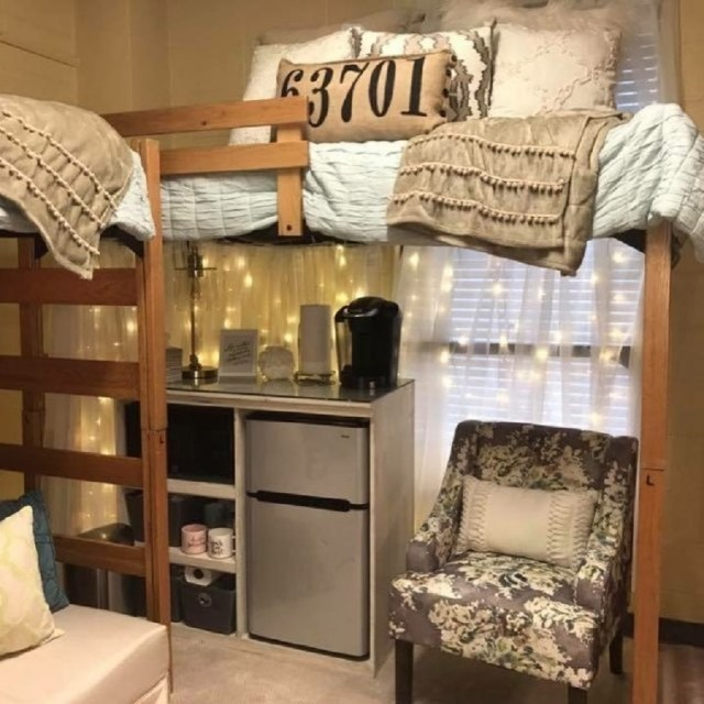 Design a kitchen area All In One Decoration Ideas To Have Everything In Your Dorm Room