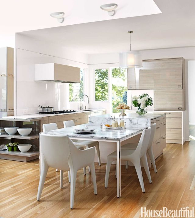 Kitchen island extension Precocious Solutions For Home With No Dining Room To Throw Away Your Worry